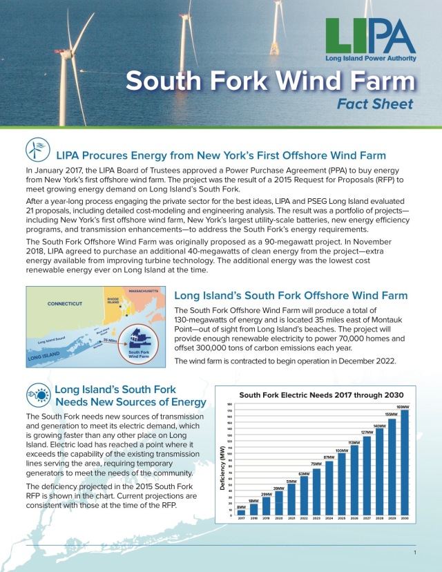 Take Aways From The New Lipa Fact Sheet Win With Wind